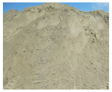 Ophoog zand